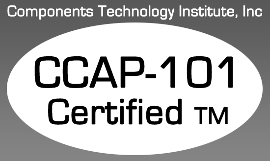 CCAP 101 Certified Electronic Components Distributor